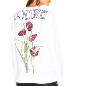 Loewe botanical print sweatshirt